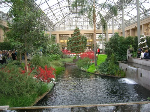 Conservatory at Longwood Gardens, Christmas 2005