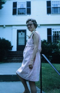 Belmont House Pink Maternity Dress 1968