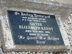 Polio, 330px-Headstone_SisterElizabethKennyHeadstone