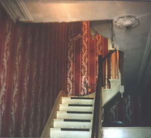 1966 Oct Stairway to Cambridge Apartment