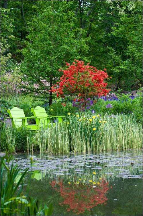 Chanticleer Pond Garden