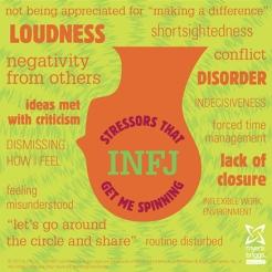 infj stressors