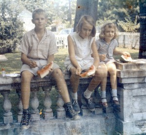 1958 Victory Drive, Diane, Judy and neighbor3