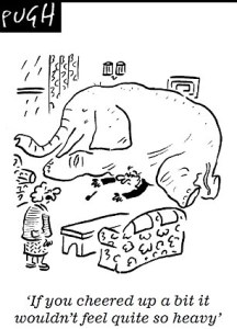 Cartoon, Pugh - My Heavy Daily Burden