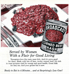 Corned Beef Hash Ad, untitled