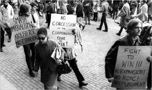 Harvard Student Protests 1969