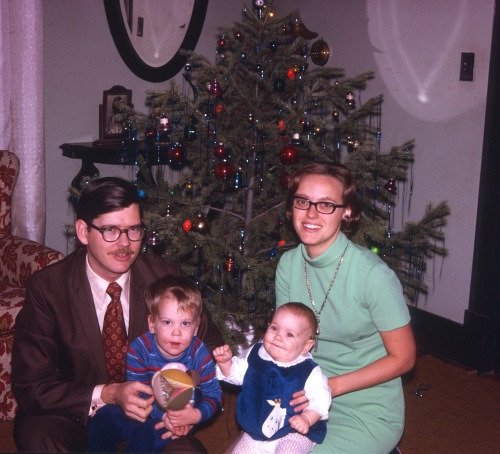 1970 Christmas family picture 3