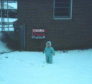 1970 Winter in Columbia SC yard3