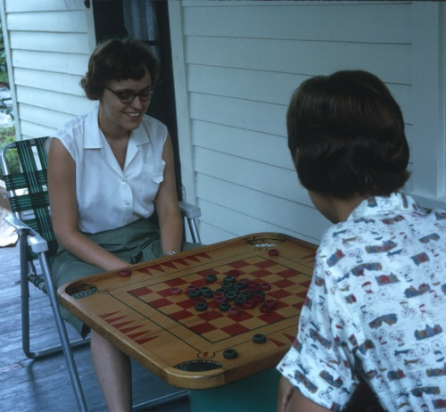1967 Jun Game time Elouise and Diane