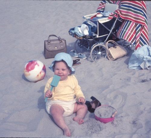 1969 Jun Scott Trip to Beach
