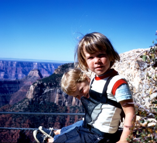 1973 Scott and Sherry at the Grand Canyon 3 ND