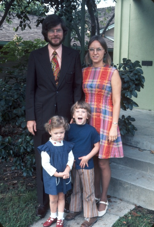 1973 Sep Altadena Family Pic 2