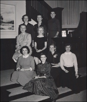 Fuller, Slessor Hall Residents 1959