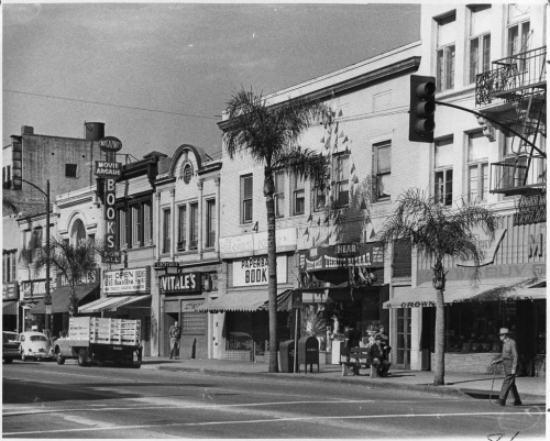 Pasadena, Colorado Blvd 1970s