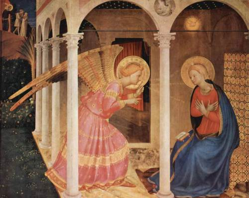 The Anunciation, by Fra Angelico