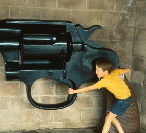 1974-5 Universal studios Scott with the big gun ND