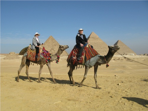 Camel rides and Pyramids