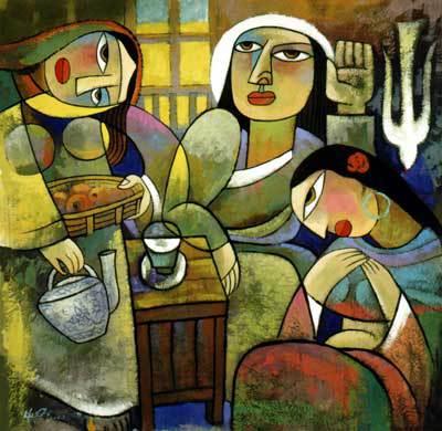 Mary and Martha, He Qi