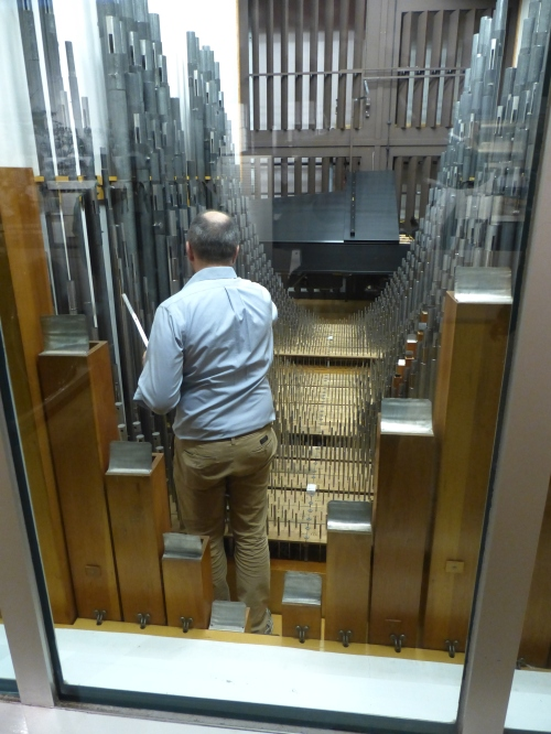 Tuning the Heart of the Longwood Organ
