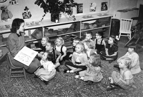 kindergarten-class-tacoma-washington-1940s